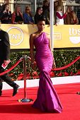 LOS ANGELES - JAN 27:  Teyonah Parris arrives at the 2013 Screen Actor's Guild Awards at the Shrine