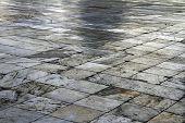 Square Diagonal Pavement