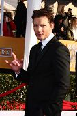 LOS ANGELES - JAN 27:  Peter Facinelli arrives at the 2013 Screen Actor's Guild Awards at the Shrine Auditorium on January 27, 2013 in Los Angeles, CA