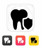 Protected tooth icon.