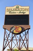 Silverton Hotel Sign In Las Vegas, Nv On May 18, 2013