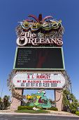 The Orleans Hotel Sign In Las Vegas, Nv On June 14, 2013