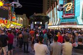 A Band Performs Downtown In Las Vegas, June 21, 2013.