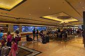 Mirage Hotel Lobby In Las Vegas, Nv On June 26, 2013