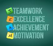 Teamwork Educational Concept Illustration