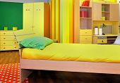 Yellow Child Room