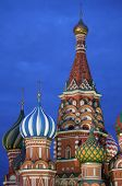 St. Basil Cathedral by night