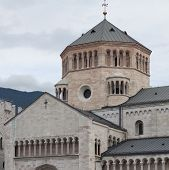Detail Of Trento Cathedral
