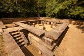 stock photo of sinhala  - Remains of Ritigala  - JPG