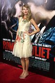 LOS ANGELES - SEP 24:  Taylor Swift at the Romeo & Juliet Premiere at ArcLight Hollywood Theaters on