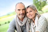 image of wifes  - Portrait of loving senior couple - JPG