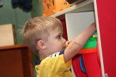 2 Year Old Boy In Preschool