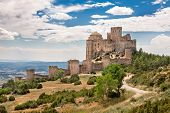 Loarre Castle In Huesca, Aragon, Spain