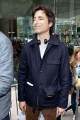 NEW YORK-SEP 27: Director Noah Baumbach while filming