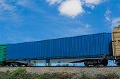 railway container