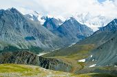 Mountains range in Altai