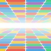 Abstract Geometric Pattern.colorful Background Of Colored Rectangles.place For Your Text.vector