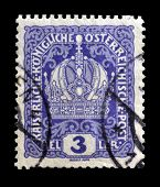 Old Austrian stamp 1916