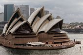 Visitors to Sydney Opera House