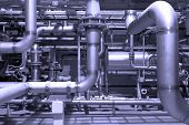 Gas pipeline of a high pressure
