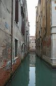 View Of Canal Rio Menuo In Venice, Italy.