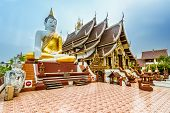 Thai Buddhist Temple in Chiang Mai,Thailand