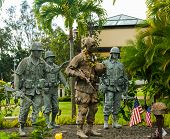 25th Infantry Division Memorial, Oahu, Hawaii.