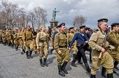 Odessa, Ukraine - April 10: Fragment Reconstruction Of Combat Events In 1944 Liberation Of Odessa In