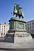 Brussels, Belgium-march 14:  Godefroid Van Bouillon King Of Jesusalem Memorial On March 14, 2014 In