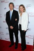 LOS ANGELES - MAR 11:  David E Kelley, Michelle Pfeiffer at the Television Academy's 23rd Hall Of Fa
