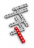 career settings (red-white crossword series)