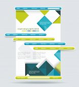 Web Design Navigation Set