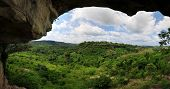 View From Umbrella Rock In The Yilo Krobo District, Outside Of Accra, Ghana.