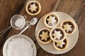 Traditional Christmas Fruit Mince Pies