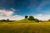 Schöner Hügel