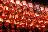 Lanterns in Wong Tai Sin Temple