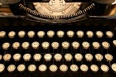 Antique Cyrillic Typewriter