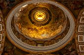 Interior of St. Peter s Cathedral, Vatican City. Italy