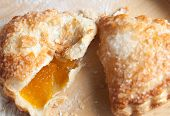 Freshly Baked Apricot Turnover