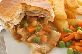 Chicken And Vegetable Pie