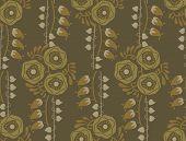 Vintage floral pattern art nouveau style