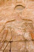 Pharoah Ramses II Carving