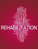 Word Cloud Rehabilitation