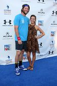 LOS ANGELES - SEP 4:  Clayton Kershaw, Ellen Kershaw at the Ping Pong 4 Purpose Charity Event at Dodger Stadium on September 4, 2014 in Los Angeles, CA