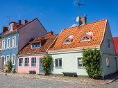 Cityscape of Ystad