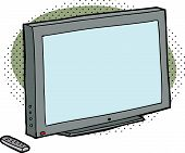 Blank Tv With Remote