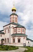 stock photo of epiphany  - Valday Iversky Monastery is a Russian Orthodox monastery founded by Patriarch Nikon in 1653 - JPG