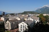 City Of Chambery, In Savoy, France