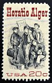 UNITED STATES OF AMERICA - CIRCA 1982: A stamp printed in USA shows Frontispiece from