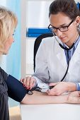 Professional Pulse And Blood Pressure Examine